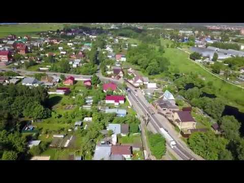Лосино-Петровский. Новинки. Река Звероножка и Новинский пруд. 4K