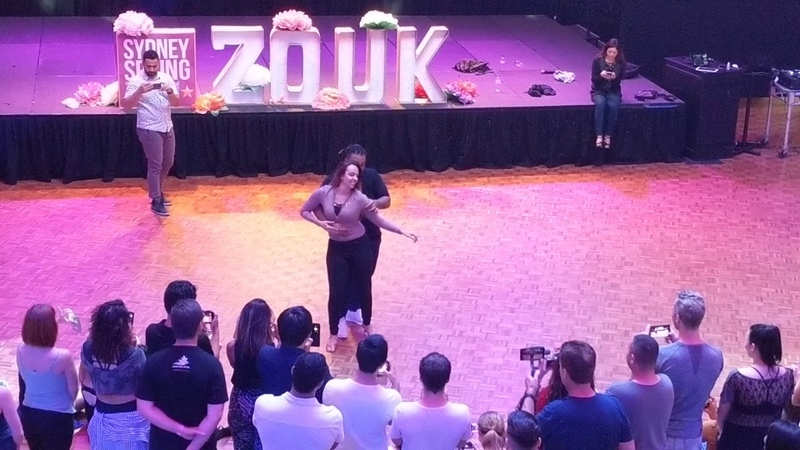 SSZF2018: Vanessa Val in Sunday afternoon workshop demo ~ Zouk Soul