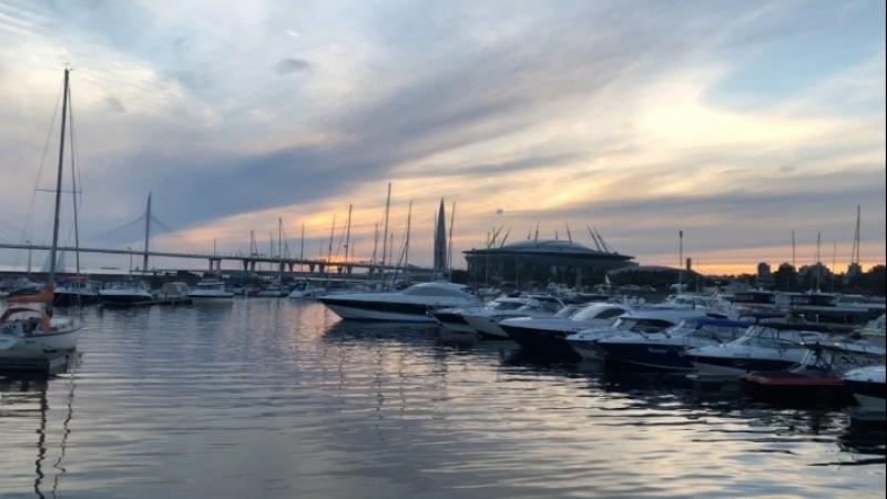 Закаты и яхты