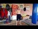 Силовая подготовка со штангой 50кг, (5 серий, 3мин- отдых)