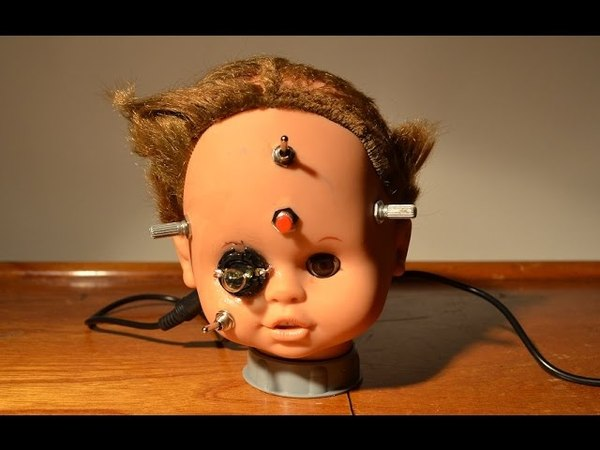 Noise Doll 2 CIRCUIT BENT TOY