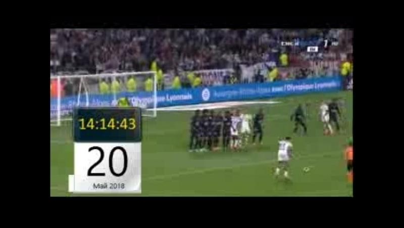 Чемпионат Франции 2017 18 Лион 2 1 Ница