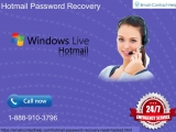 Hotmail Password Recovery 1-888-910-3796, the lost memory department of your Hotmail account-