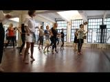 Бачата женская техника, фрагмент занятий с Наталией Поддубной, школа танцев Держи Ритм