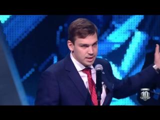 Зажигательная речь Богдана Киселевича на церемонии закрытия сезона Континентальной хоккейной лиги.