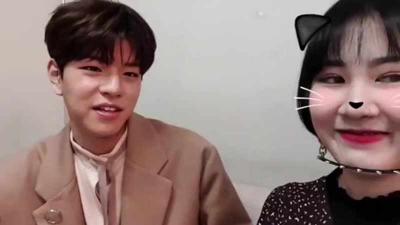 [фейсбук] 181120 Сынмин и Пак Джимин (15) @ After School Club