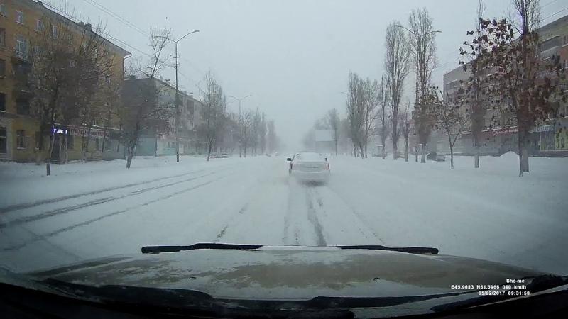 Саратов чутка завалило снегом или за что я люблю свою CR-V