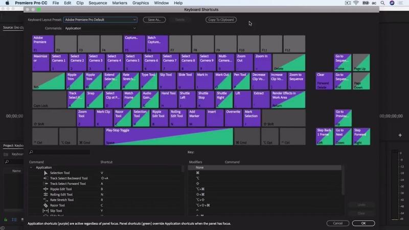 Горячие Клавиши и Сочетания Клавиш в Adobe Premiere Pro. Оптимизируем работу с P