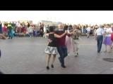 Ковбойский танец. Бальные танцы на Стрелке В.О. (02.09.2018 г.) вид. 970