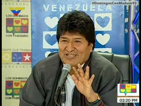 Evo Morales afirma que en Bolivia ya no mandan los Chicago Boys, sino los pueblos indígenas