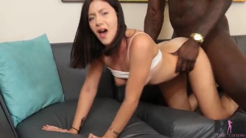 Beautiful asian woman humping