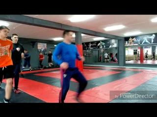 Совместная тренировка по вольной борьбе БК ТИТАН и ДЮСШ СПАРТАК
