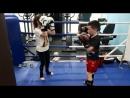 Тайский бокс у нас в клубе Тренер Игорь