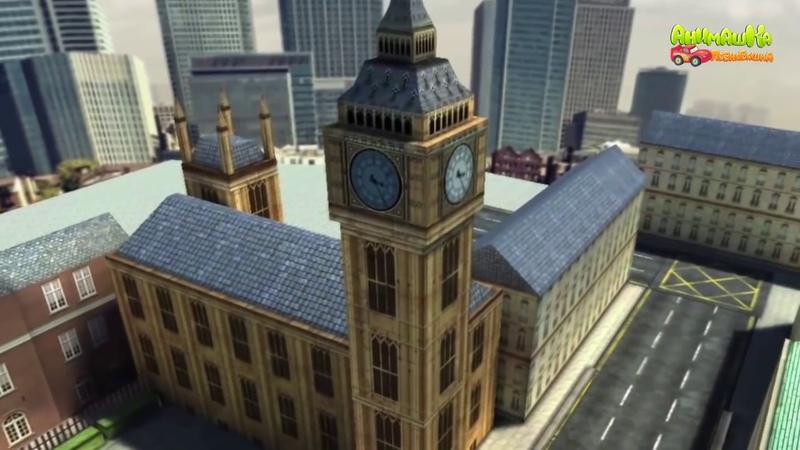 Мультики про машинки для детей Город Игровой мультфильм для детей новые серии