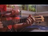 Рок-Острова - Костры (укулеле + гиталеле)