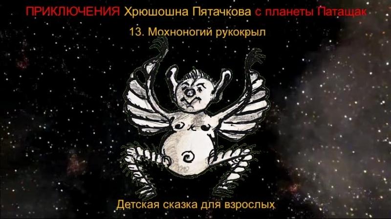 13. Мохноногий рукокрыл. Приключения Хрюшона Пятачкова с планеты Патащак.