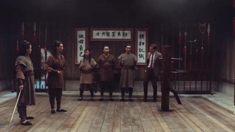 Мистер Бин ассасин - Mr Bean Kung Fu Master Assassin