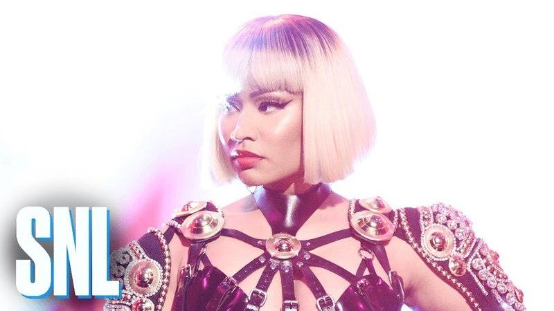 Playboi Carti Nicki Minaj Poke It Out (Live) - SNL
