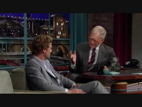 Simon Baker on the Late Show 23-09-09