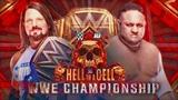 WWE 2K18 AJ Styles vs Samoa Joe WWE Championship Match Hell in a Cell 2018
