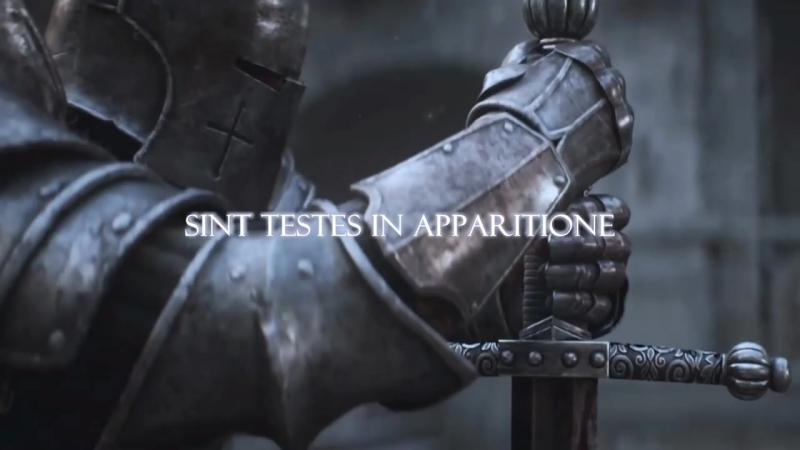 Salve Regina A Templar Chant Lyric Video