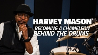 Harvey Mason: Becoming A Chameleon Behind The Drums (FULL DRUM LESSON)