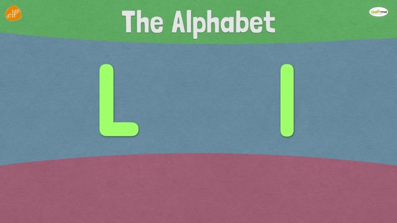 Letter L _ Early Phonics _ Think Read Write _ ELF Learning _ Elf Kids Videos