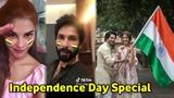 independence day   Bollywood Actors   Celebrates   Varun Dhawan   Anushka Sharma