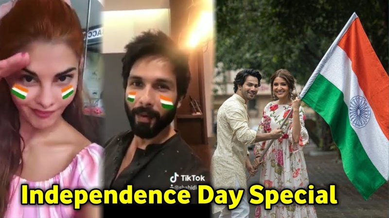 Independence day | Bollywood Actors | Celebrates | Varun Dhawan | Anushka Sharma