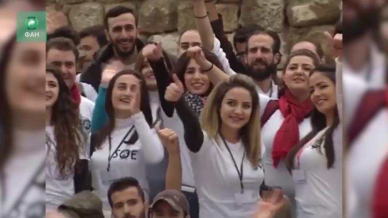Сирия: корреспондент ФАН побывал на культурном мероприятии в провинции Дамаск