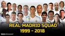 Real Madrid squad players 1999 - 2018