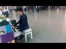 Luxemburg City Piano - Traveler playing Nuvole Bianche