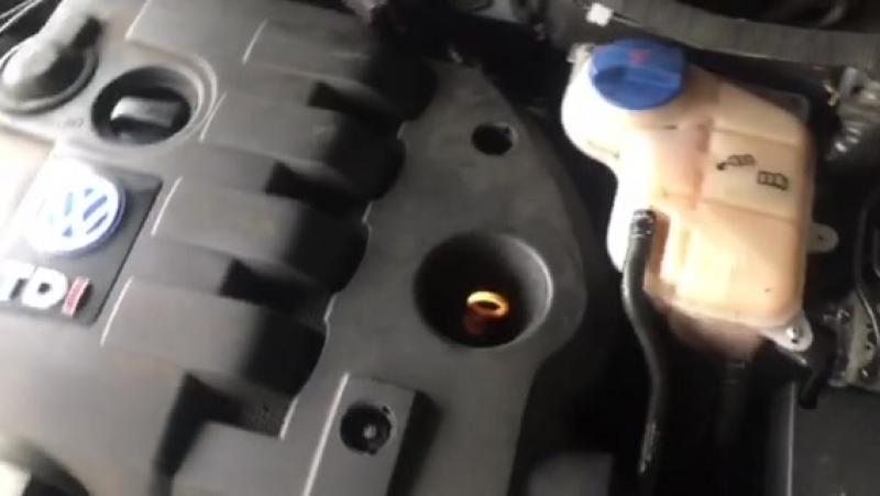 Тест двигателя Фольксваген Пассат Б5 1.9 TDI