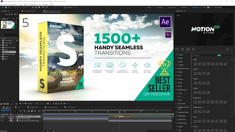 What's new in Handy Seamless Transitions V5?