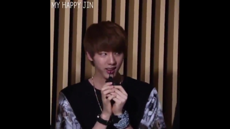 Let's watch Seokjin imitating the puppy