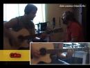 Ночь перед Рождеством - СЕКТОР ГАЗА _ Как играть на гитаре (2 партии) Табы, акко