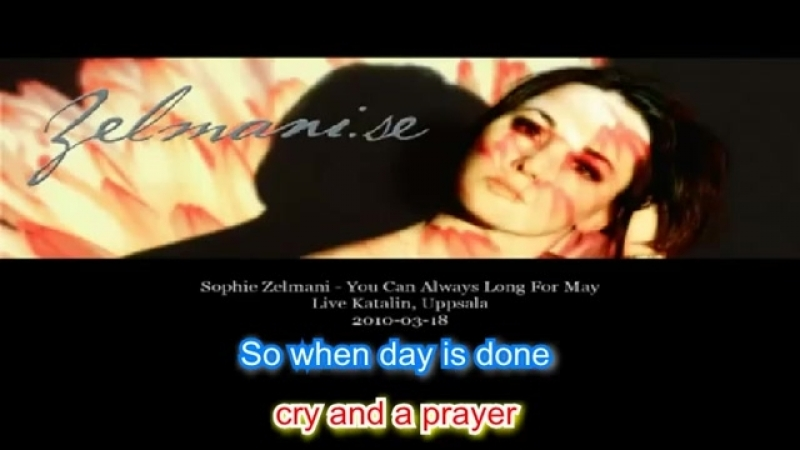 Sophie Zelmani - You Can Always Long for May