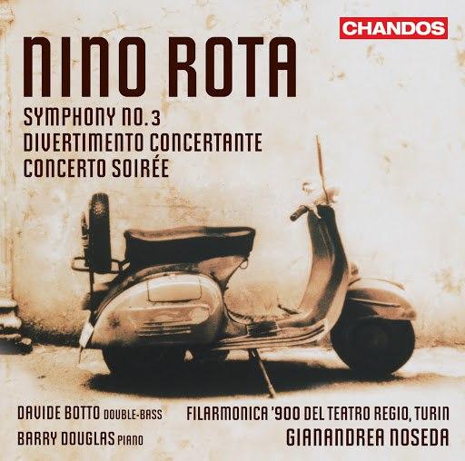 Nino Rota альбом Rota: Symphony No. 3 - Divertimento Concertante - Concerto Soirée