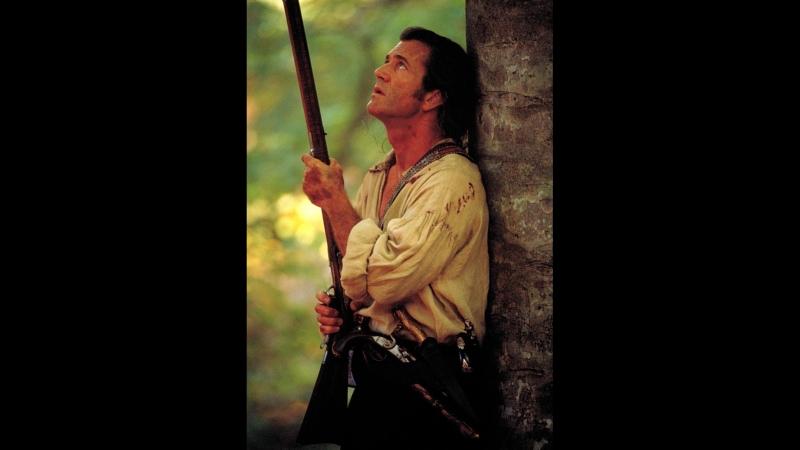 Бой Бенджамина Мартина против англичан в лесу