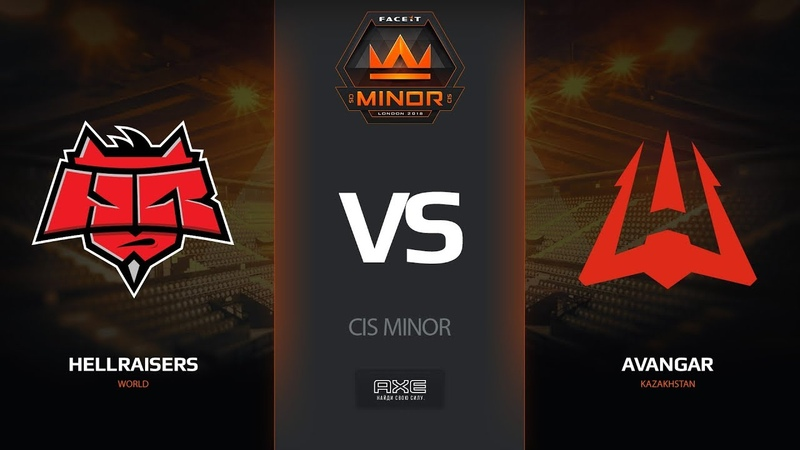 HellRaisers vs AVANGAR, map 2 cache, CIS Minor – FACEIT Major 2018
