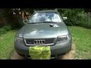 Осветление старых фар автомобиля методом шлифования