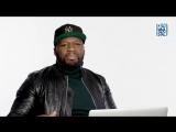 50 Cent в программе Actually Me. Русский язык