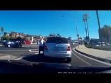 Когда даже машина считает, что водитель не прав