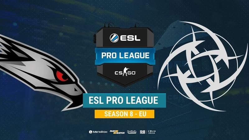 AGO vs NIP ESL Pro League S8 EU bo1 de cache CrystalMay Smile
