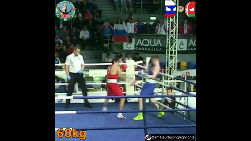 Батыргазиев - Асанов (60кг) - Европа 19-22, Финал 01.04.2018