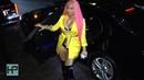 Nicki Minaj Makes Quite the Entrance to a 2018 New York Fashion Week Event