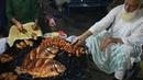 Fish Fry Fried Fish Eggs in Street Food of Karachi Pakistan Deep Fried Fish