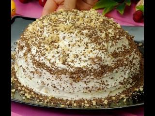 """Безумно вкусный торт """"айсберг"""""""