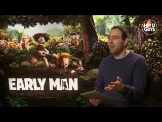 Maisie Williams & Tom Hiddleston - Early Man (Aardman) Exclusive Interview.mp4