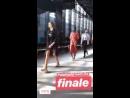 Video di Gigi durante le prove per la sfilata di Alberta Ferretti SS19 a Milano 19 09 MFW